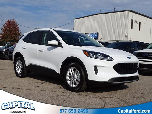 Oxford White 2020 Ford Escape SE 4D Sport Utility Raleigh NC