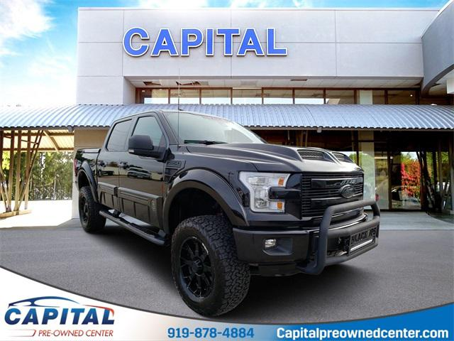 Shadow Black 2016 Ford F-150 LARIAT 4D SuperCrew Raleigh NC