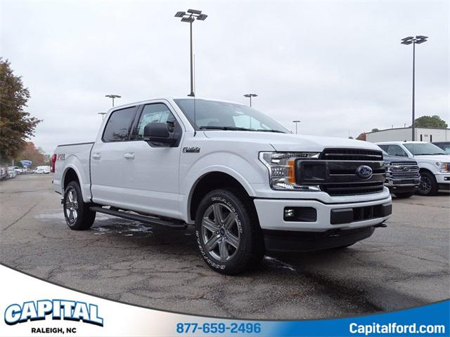 Oxford White 2019 Ford F-150 XLT 4D SuperCrew Raleigh NC