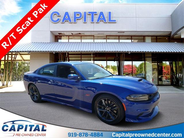 Indigo Blue 2019 Dodge Charger R/T SCAT PACK 4D Sedan Raleigh NC