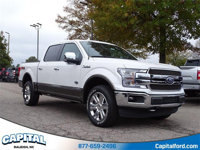 Brown 2019 Ford F-150 KING RANCH 4D SuperCrew Raleigh NC