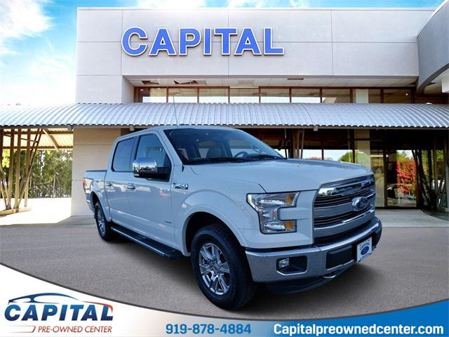 Oxford White 2015 Ford F-150  4D SuperCrew Indian Trail NC