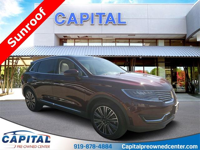 Burgundy Velvet Metallic Tinted Clearcoat 2017 Lincoln Mkx BLACK LABEL 4D Sport Utility Raleigh NC