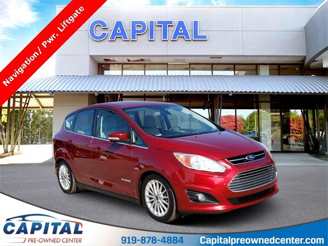 Ruby Red Metallic Tinted Clearcoat 2014 Ford C-Max Hybrid SEL 4D Hatchback Raleigh NC