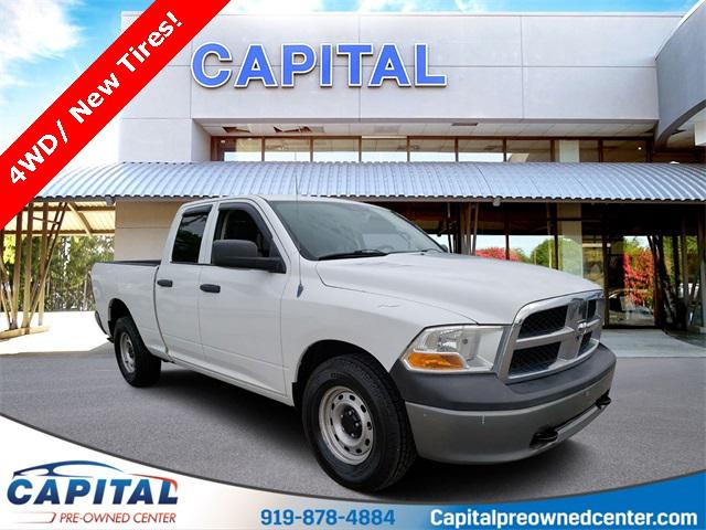 Bright White 2011 RAM 1500 ST 4D Extended Cab Raleigh NC