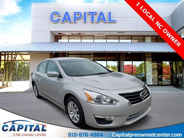 Brilliant Silver 2015 Nissan Altima 2.5 S 4D Sedan Raleigh NC