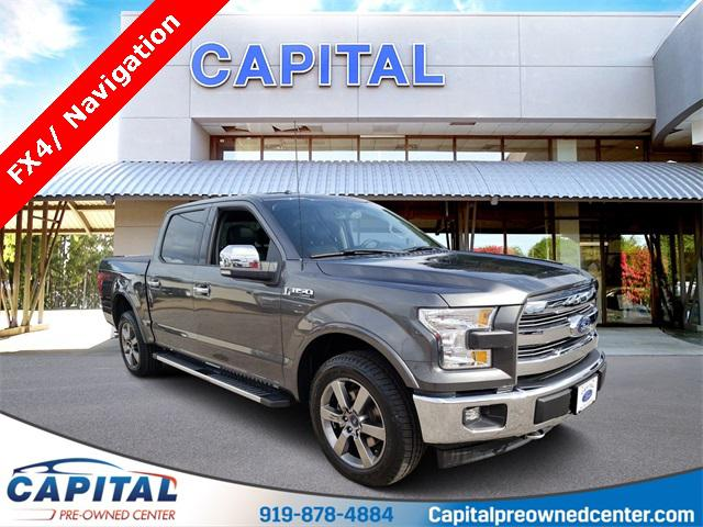Magnetic Metallic 2017 Ford F-150 LARIAT 4D SuperCrew Raleigh NC
