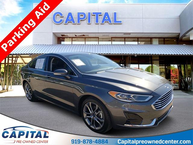 Magnetic Metallic 2019 Ford Fusion SEL 4D Sedan Raleigh NC