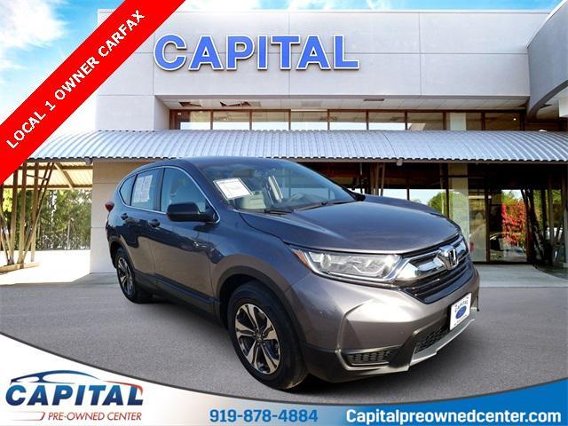 Modern Steel Metallic 2017 Honda Cr-V LX 4D Sport Utility Raleigh NC