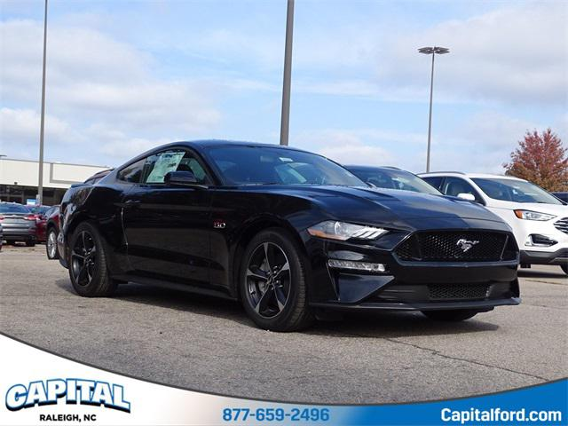 Shadow Black 2019 Ford Mustang GT 2D Coupe Raleigh NC