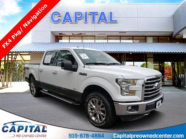 Oxford White 2016 Ford F-150 XLT 4D SuperCrew Raleigh NC
