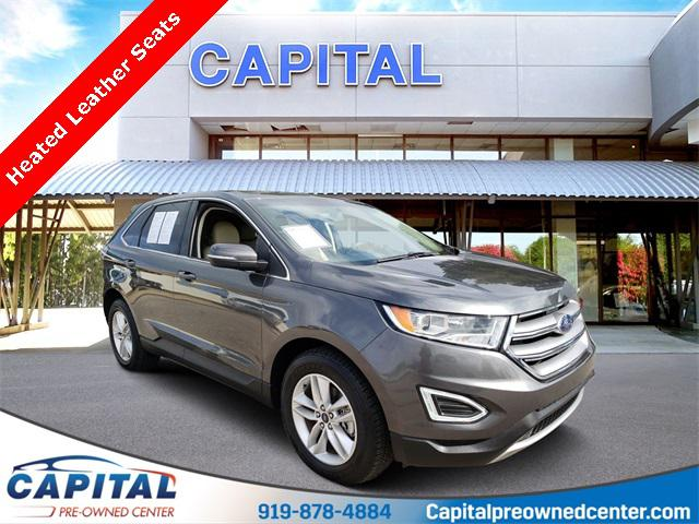 Magnetic Metallic 2016 Ford Edge SEL 4D Sport Utility Raleigh NC