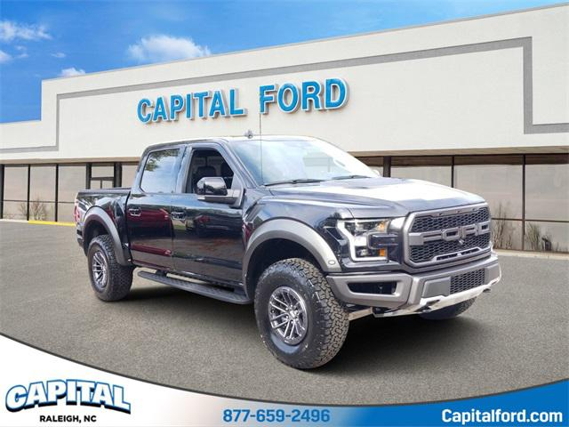 Black Metallic 2020 Ford F-150 RAPTOR 4D SuperCrew Raleigh NC