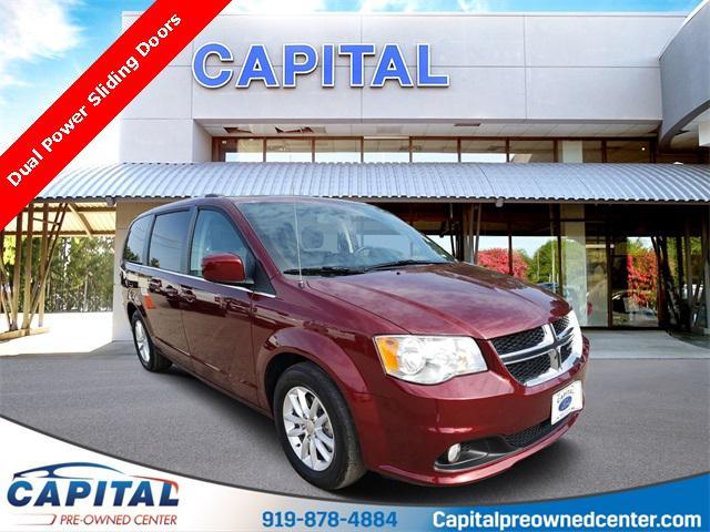 Octane Red Pearlcoat 2018 Dodge Grand Caravan SXT 4D Passenger Van Raleigh NC