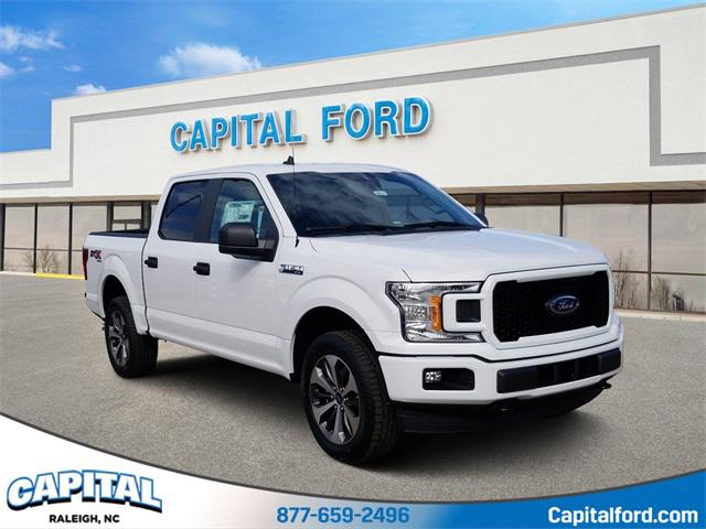 Oxford White 2020 Ford F-150 XL 4D SuperCrew Raleigh NC