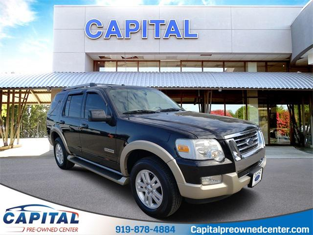 Black Clearcoat 2006 Ford Explorer EDDIE BAUER 4D Sport Utility Raleigh NC