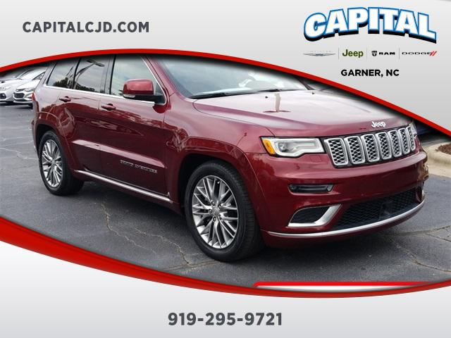 Velvet Red Pearlcoat 2018 Jeep Grand Cherokee SUMMIT SUV Garner NC