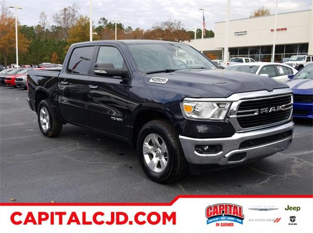 Maximum Steel Metallic Clearcoat 2019 RAM 1500 BIG HORN/LONE STAR Short Bed Raleigh NC