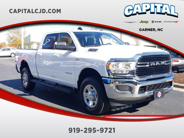 Bright White Clearcoat 2019 RAM 2500 BIG HORN Standard Bed Garner NC