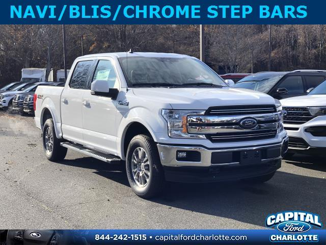 Oxford White 2020 Ford F-150 LARIAT Short Bed Charlotte NC