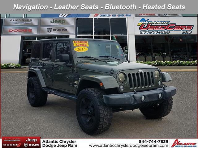 Tank Clearcoat 2015 Jeep Wrangler Unlimited SAHARA SUV Huntington NY