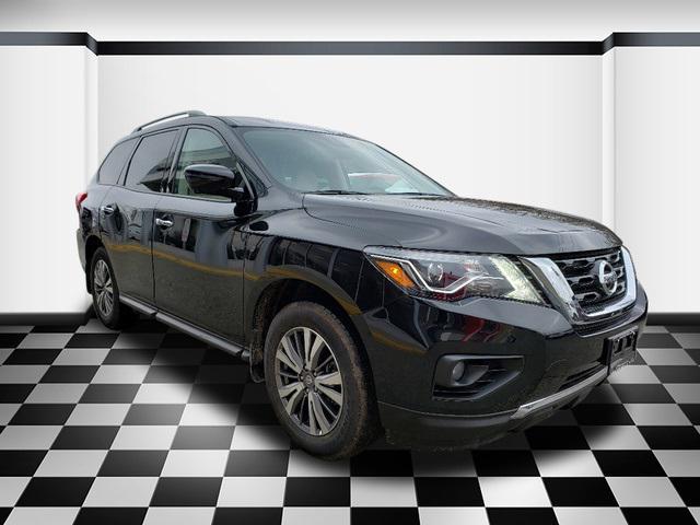 Magnetic Black Pearl 2019 Nissan Pathfinder SL SUV Neptune NJ