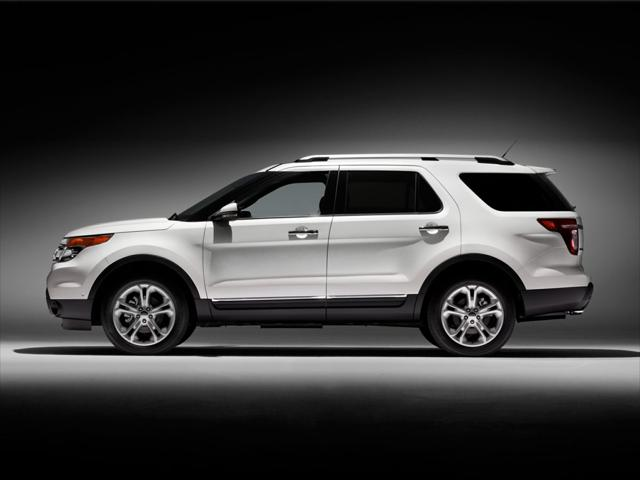 White 2015 Ford Explorer XLT SUV Rocky Mount NC