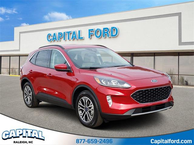 Red 2020 Ford Escape SEL 4D Sport Utility Raleigh NC