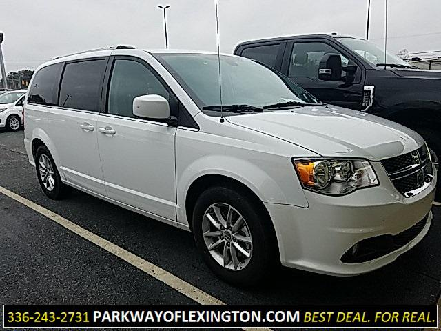 White Knuckle Clearcoat 2019 Dodge Grand Caravan SXT 4D Passenger Van Lexington NC