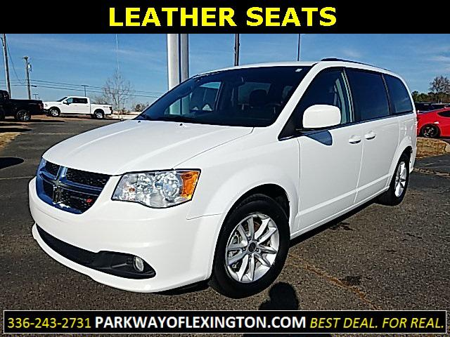White Knuckle Clearcoat 2019 Dodge Grand Caravan SXT 4D Passenger Van Garner NC