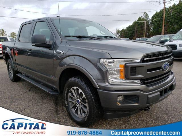 Magnetic Metallic 2018 Ford F-150 XLT 4D SuperCrew Raleigh NC