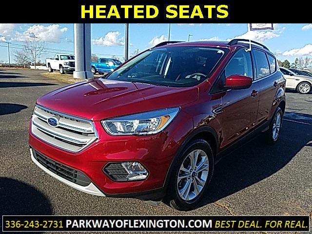 Red 2018 Ford Escape SE 4D Sport Utility Lexington NC