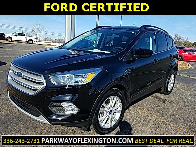 Shadow Black 2018 Ford Escape SE 4D Sport Utility Lexington NC