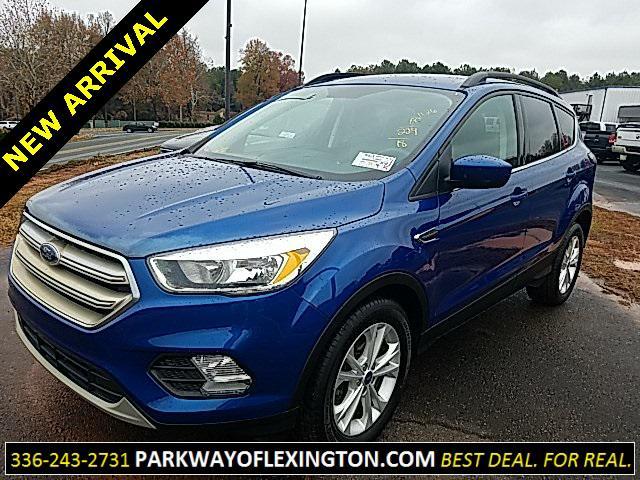 Blue 2018 Ford Escape SE 4D Sport Utility Lexington NC