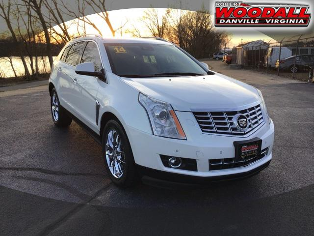 Platinum Ice Tricoat 2014 Cadillac Srx PREMIUM COLLECTION SUV Danville VA