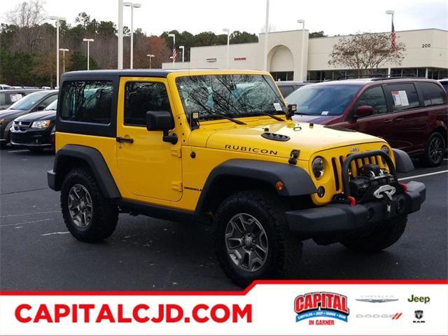 Baja Yellow 2015 Jeep Wrangler RUBICON SUV Raleigh NC