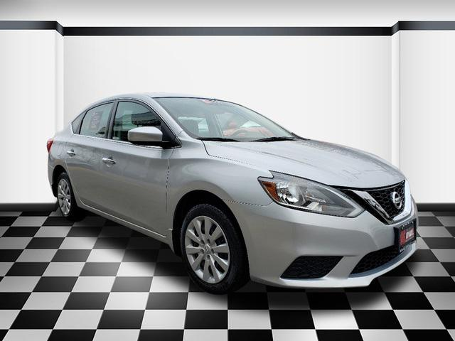 Brilliant Silver Metallic 2016 Nissan Sentra S 4dr Car Neptune NJ