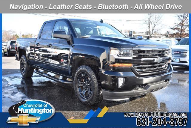 Black 2016 Chevrolet Silverado 1500 LT Standard Bed Huntington NY