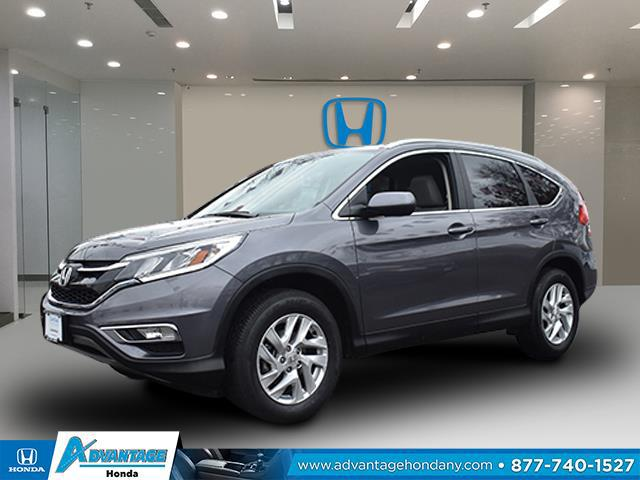 Modern Steel Metallic 2016 Honda Cr-V EX-L SUV Huntington NY