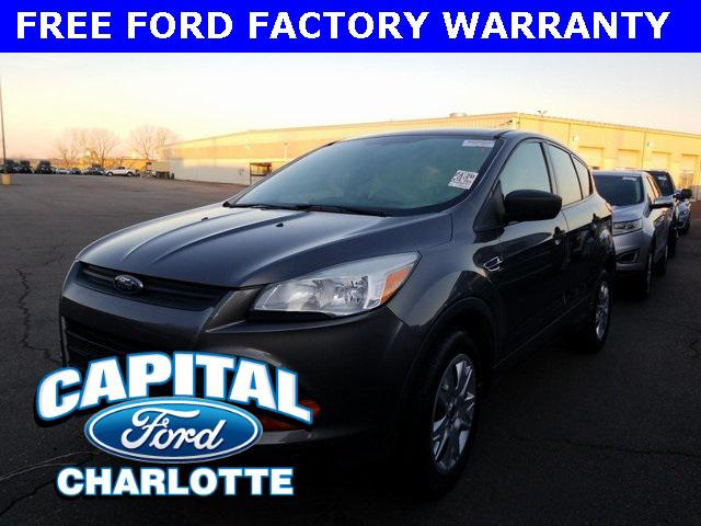 Gray 2013 Ford Escape S 4D Sport Utility Charlotte NC
