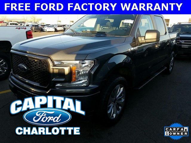 Magnetic Metallic 2018 Ford F-150 XL Short Bed Charlotte NC