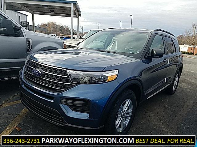Blue Metallic 2020 Ford Explorer XLT 4D Sport Utility Lexington NC