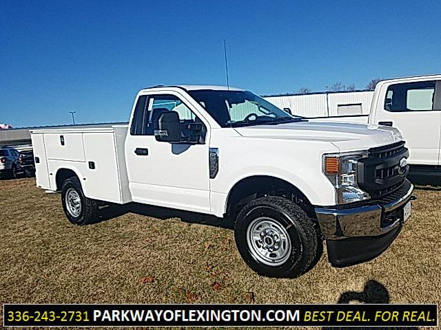 Oxford White 2020 Ford F-250SD 8FT SERVICE BODY 2D Standard Cab Lexington NC