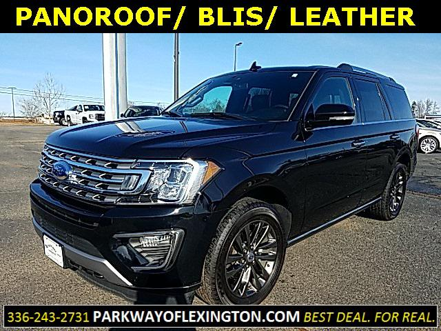 Agate Black Metallic 2019 Ford Expedition LIMITED 4D Sport Utility Lexington NC