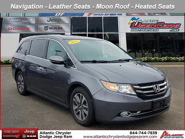 Modern Steel Metallic 2016 Honda Odyssey TOURING ELITE Mini-van, Passenger Huntington NY
