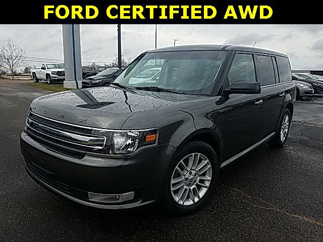 Magnetic Metallic 2017 Ford Flex SEL 4D Sport Utility Lexington NC