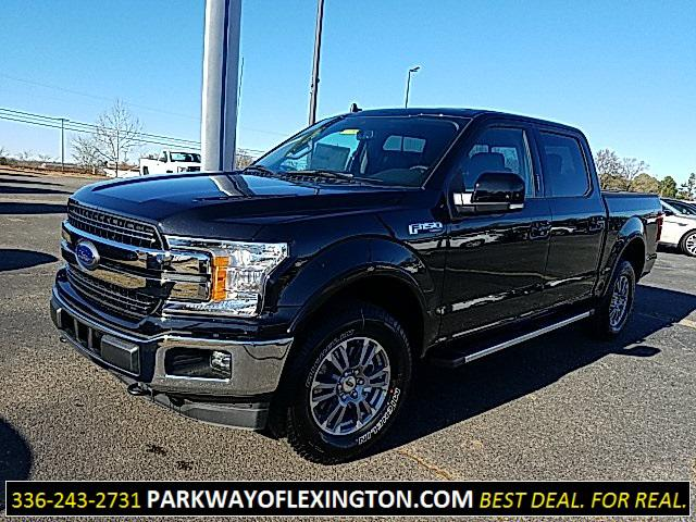 Agate Black Metallic 2020 Ford F-150 LARIAT 4D SuperCrew Lexington NC
