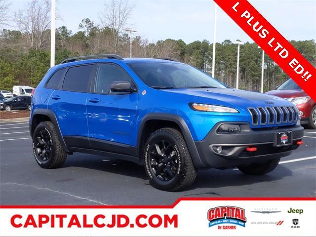 Blue Pearl 2018 Jeep Cherokee TRAILHAWK SUV Garner NC