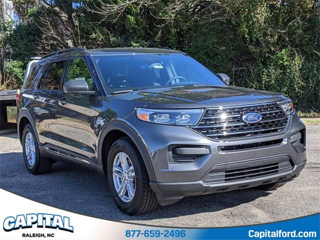 Magnetic 2020 Ford Explorer XLT 4D Sport Utility Raleigh NC