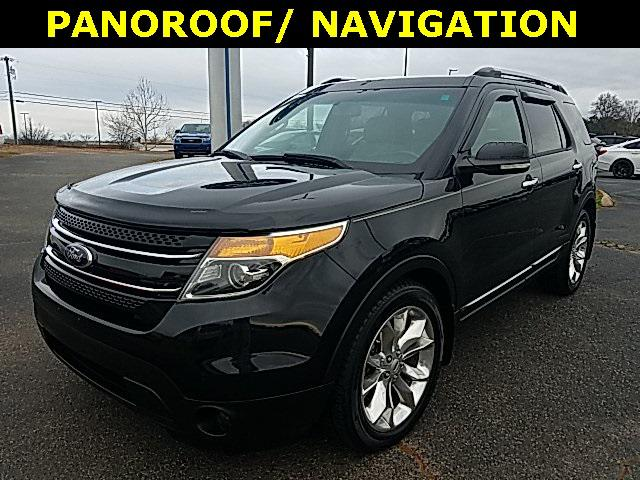 Tuxedo Black Metallic 2014 Ford Explorer LIMITED 4D Sport Utility Lexington NC